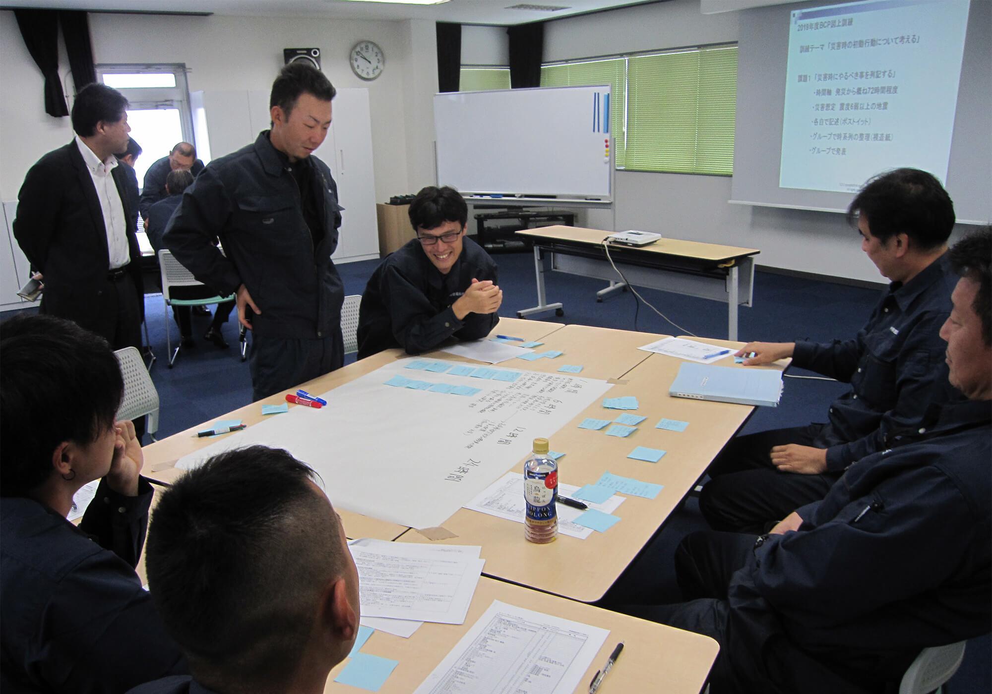BCP訓練(グループ討議)